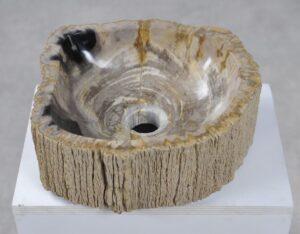 Lavabo bois pétrifié 28740