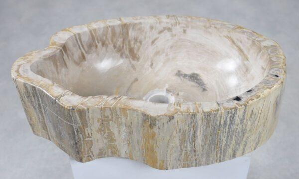 Lavabo madera petrificada 30049