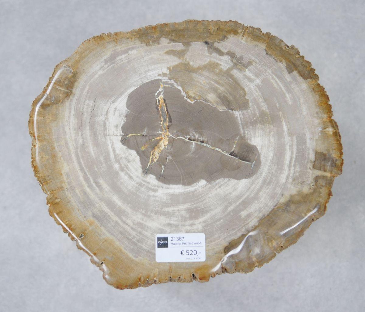 Side table petrified wood 21367
