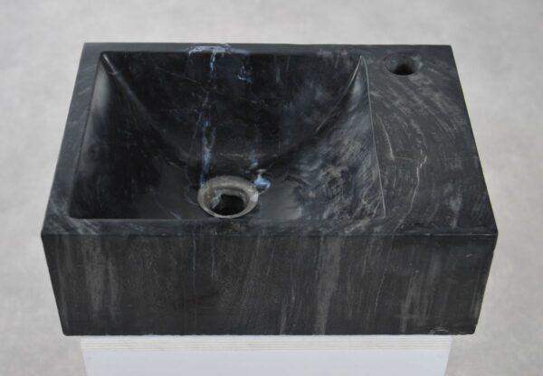 Waschbecke versteinertes Holz 34419