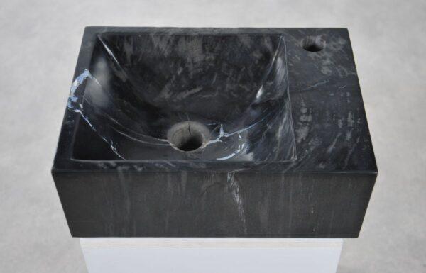 Waschbecke versteinertes Holz 34420
