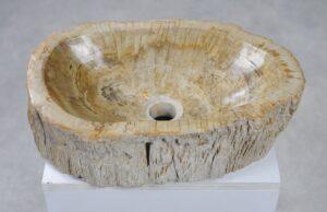 Wash hand basin petrified wood 27567