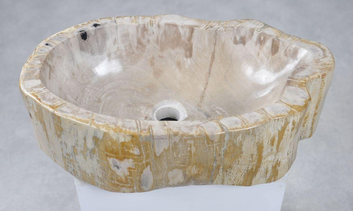 Wash hand basin petrified wood 30049