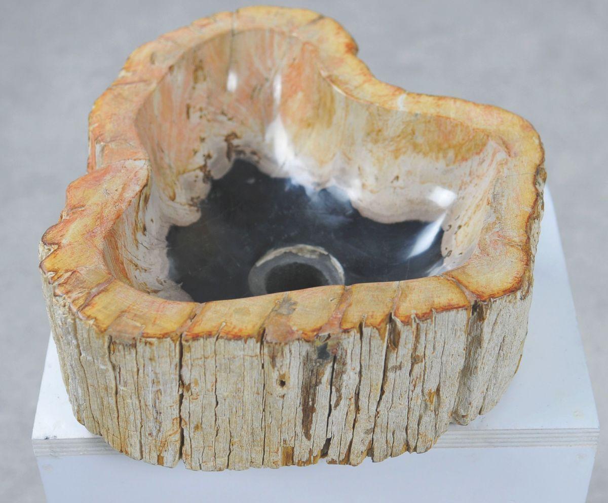 Wash hand basin petrified wood 32571