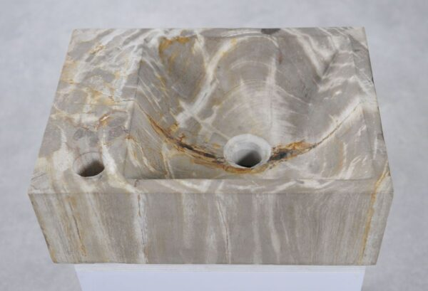 Wash hand basin petrified wood 34421