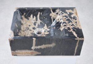 Wash hand basin petrified wood 34424