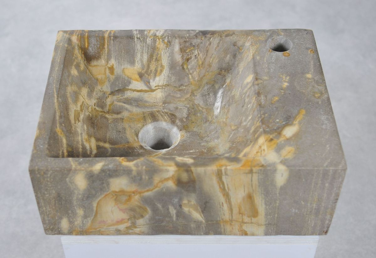 Wash hand basin petrified wood 34430