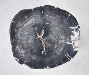 Plato madera petrificada 35008