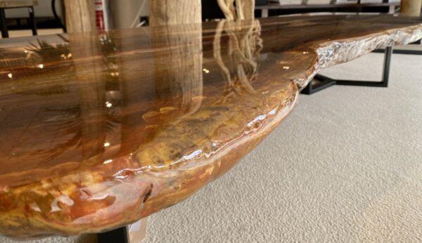 Mesa de centro madera petrificada 32302