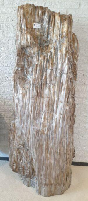 Skulptur versteinertes Holz 14102
