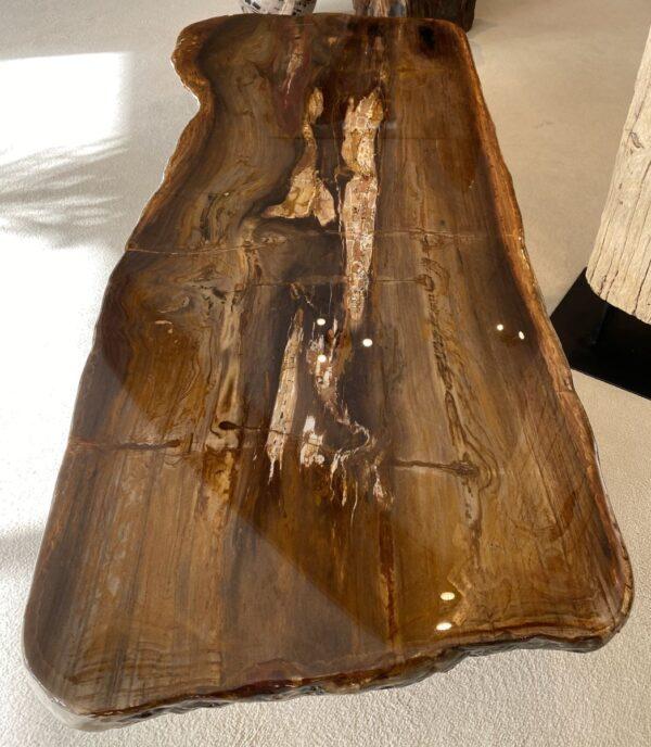 Table basse bois pétrifié 32302