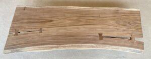 Wooden bench 25053
