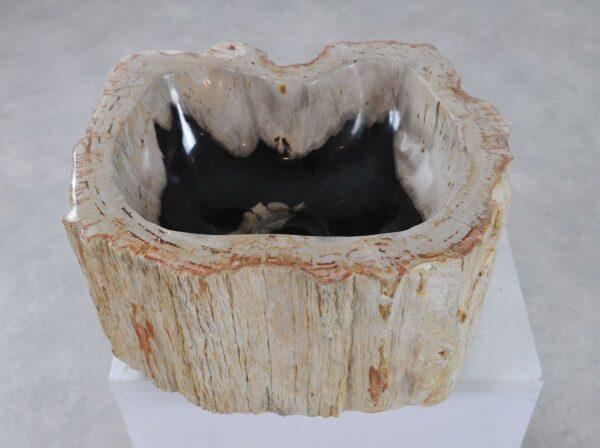 Lavabo bois pétrifié 36337