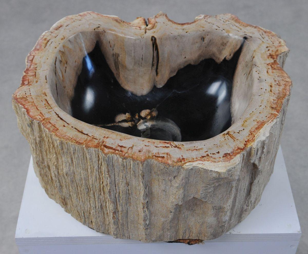 Lavabo bois pétrifié 36338