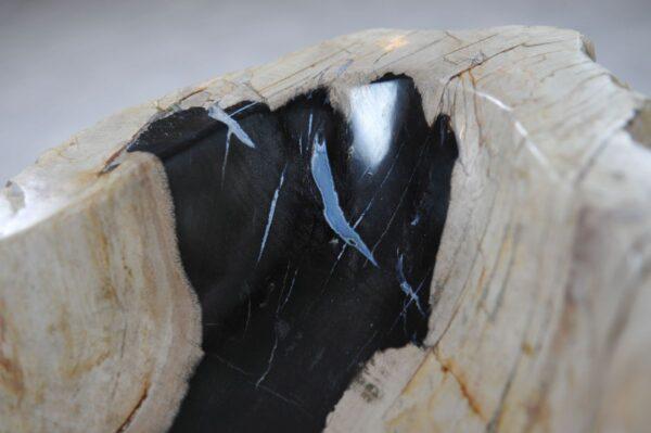 Lavabo bois pétrifié 36343