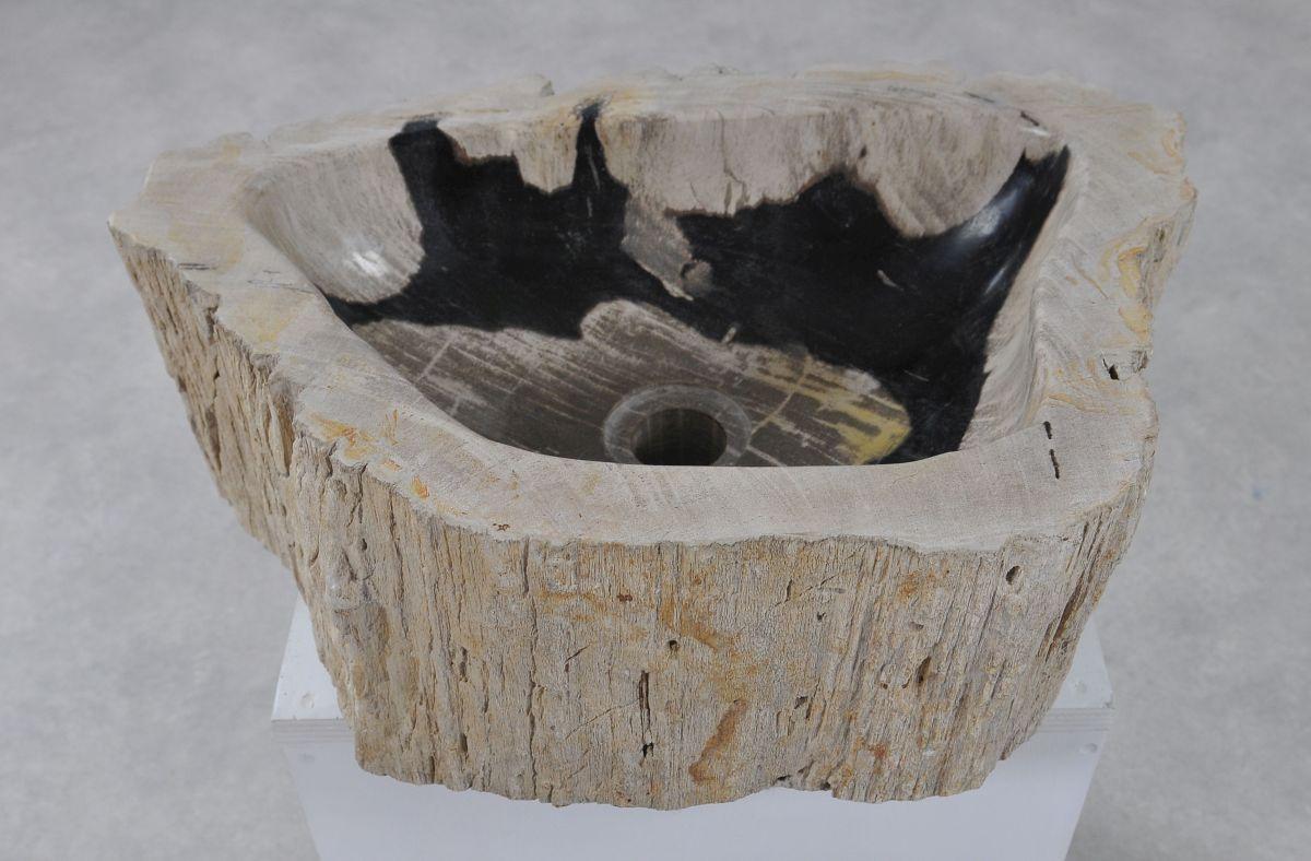 Lavabo bois pétrifié 36345