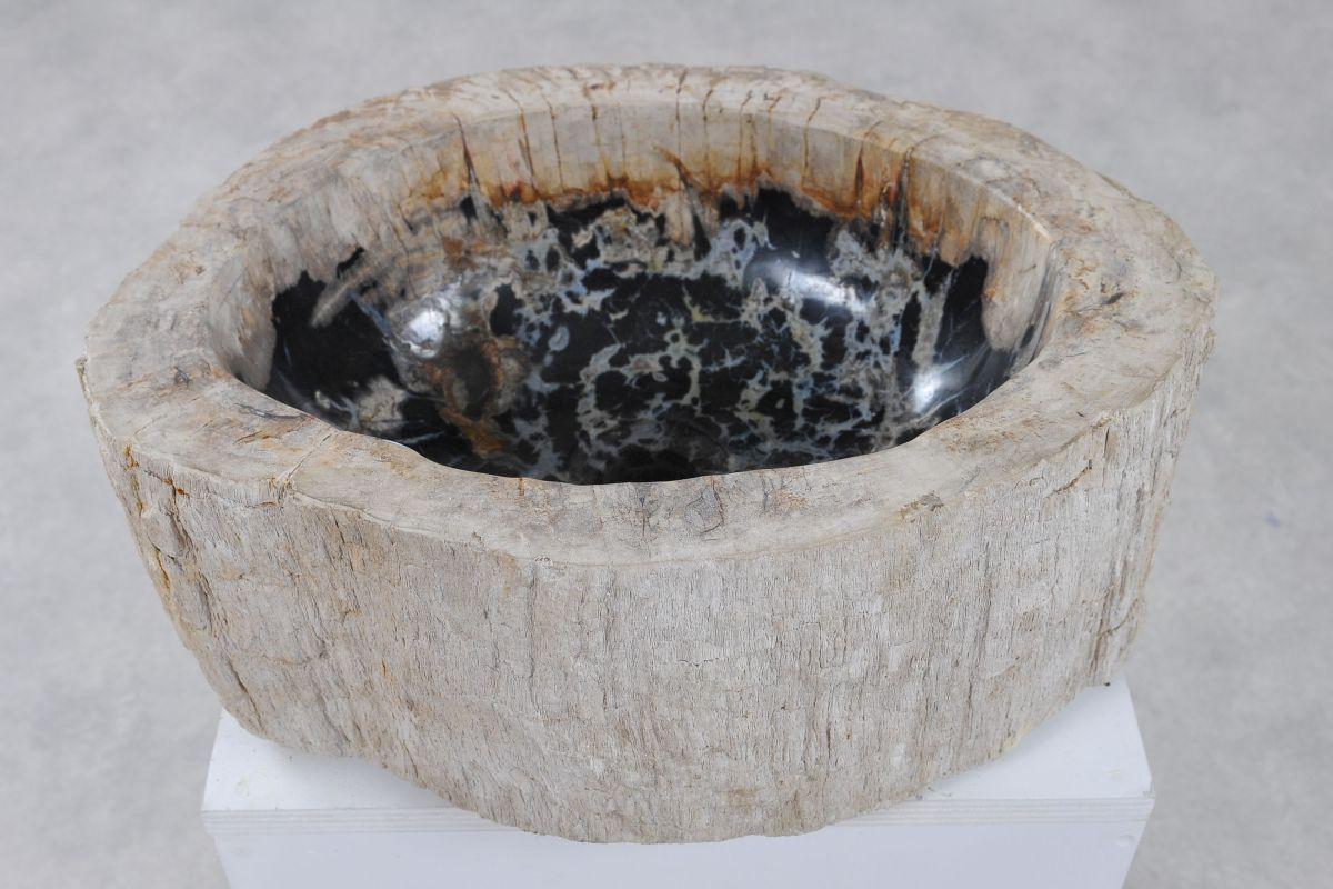 Lavabo bois pétrifié 36350