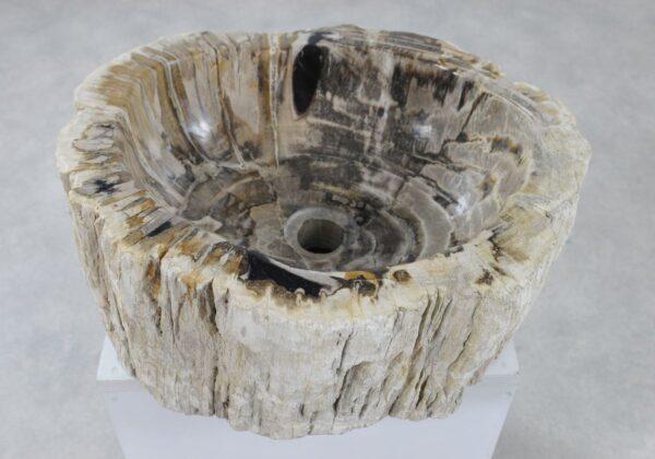 Lavabo madera petrificada 36341