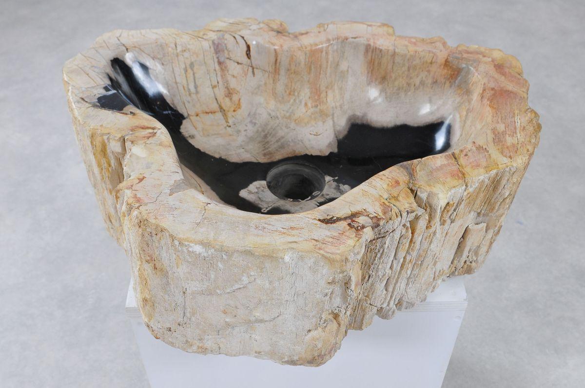 Lavabo madera petrificada 36343