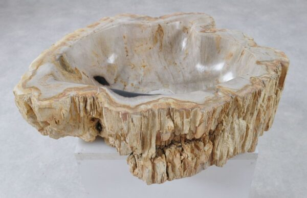 Lavabo madera petrificada 36344