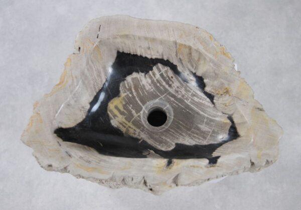 Lavabo madera petrificada 36345
