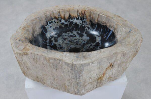Lavabo madera petrificada 36351