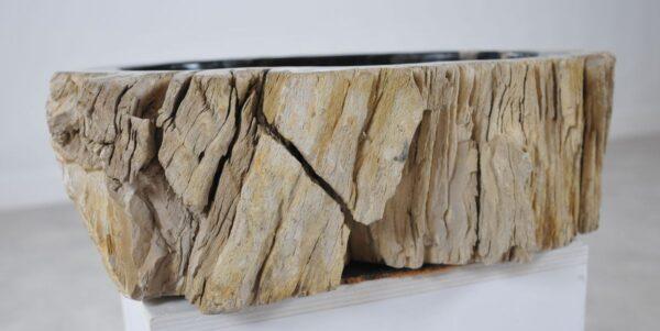 Waschbecke versteinertes Holz 36340