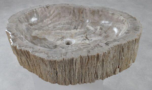 Waschbecke versteinertes Holz 36355