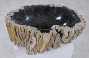 Wash hand basin petrified wood 36339