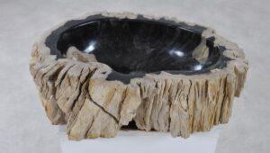 Wash hand basin petrified wood 36340