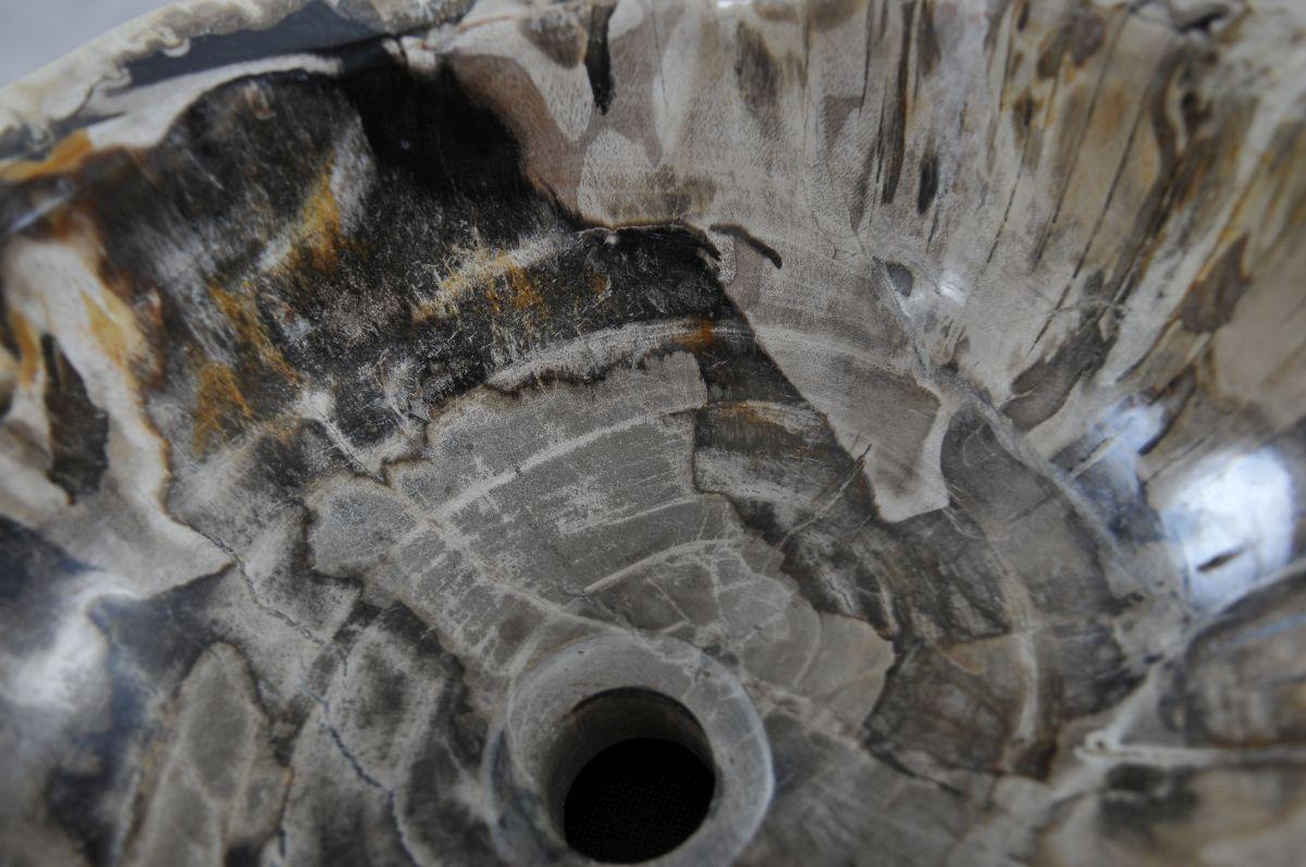 Wash hand basin petrified wood 36341