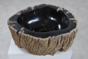 Wash hand basin petrified wood 36342