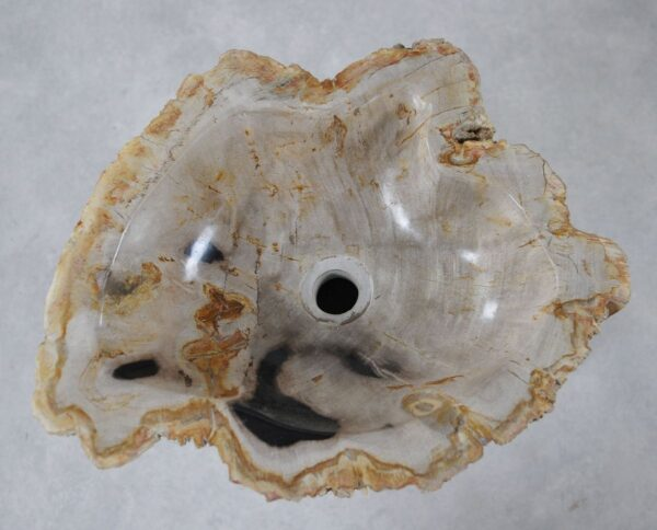 Wash hand basin petrified wood 36344