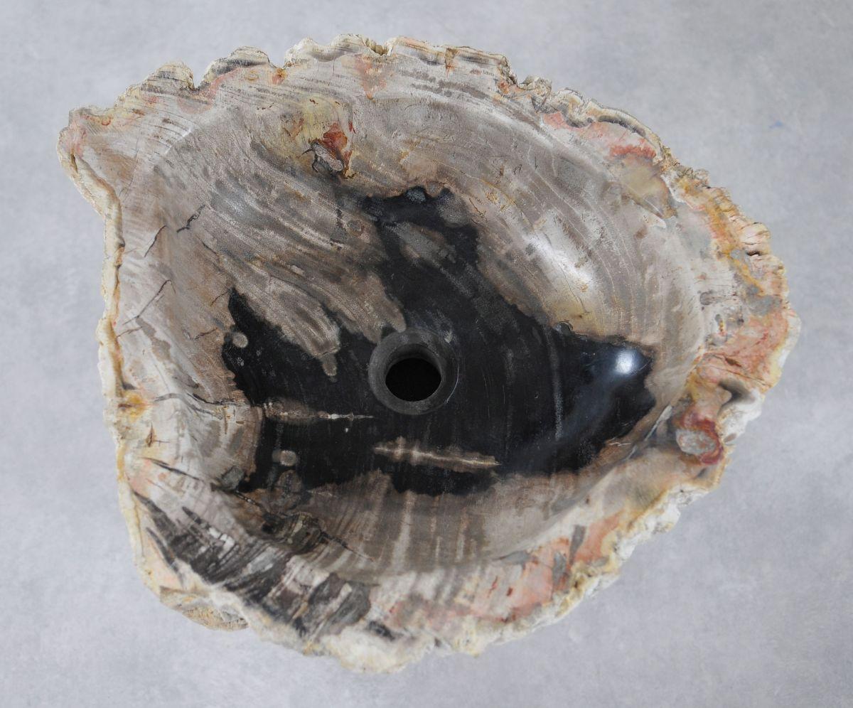 Wash hand basin petrified wood 36349