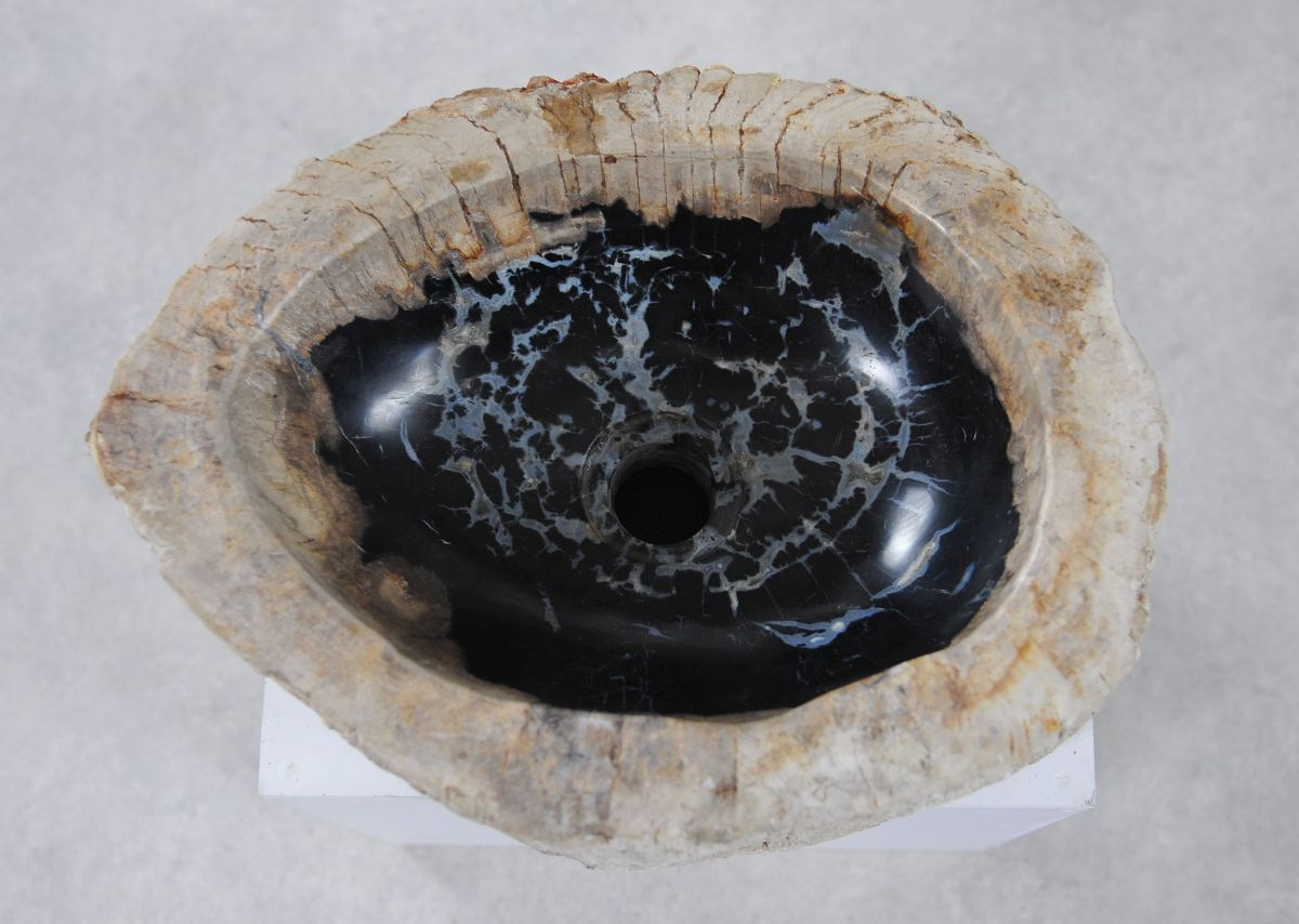 Wash hand basin petrified wood 36352