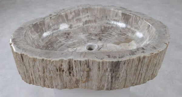 Wash hand basin petrified wood 36355