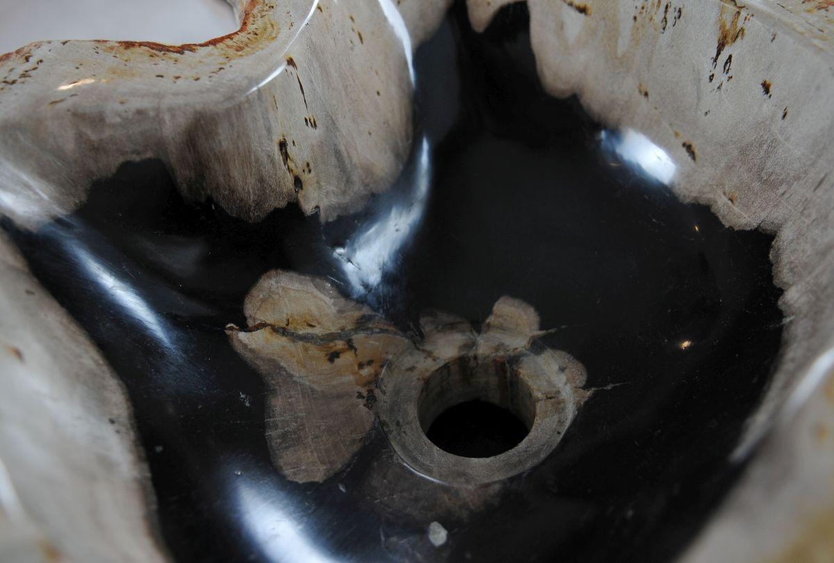 Wash hand basin petrified wood 36360