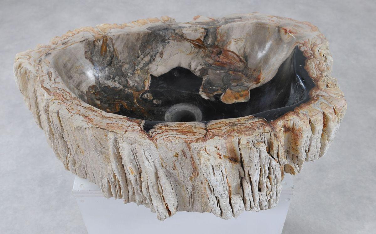 Wash hand basin petrified wood 36361