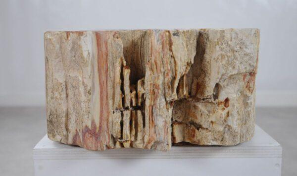 Wastafel versteend hout 36337