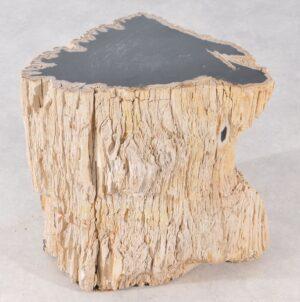 Bijzettafel versteend hout 36006
