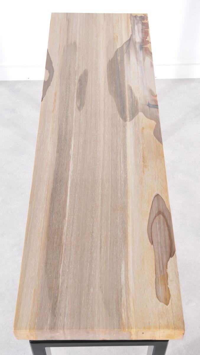 Console table petrified wood 36113