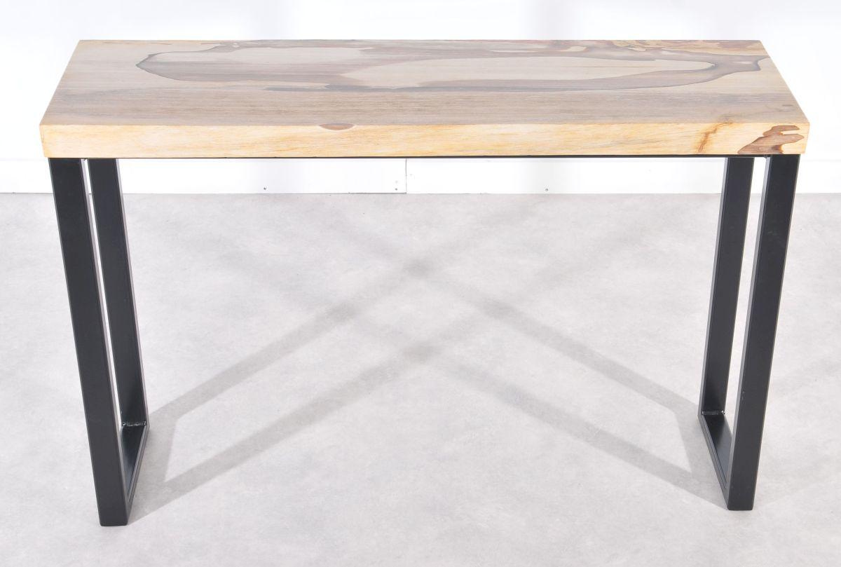 Console table petrified wood 36114