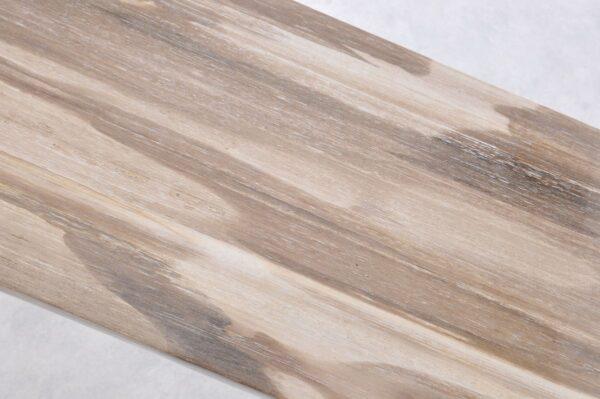 Console table petrified wood 36115