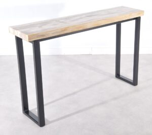 Console table petrified wood 36117
