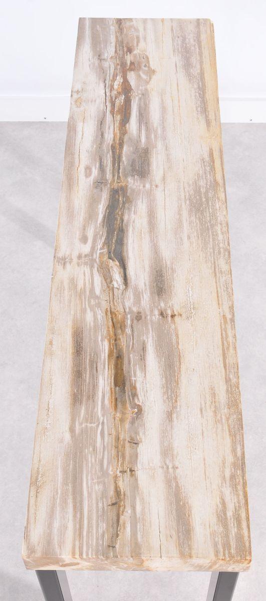 Console table petrified wood 36118