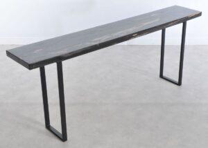 Console table petrified wood 36120