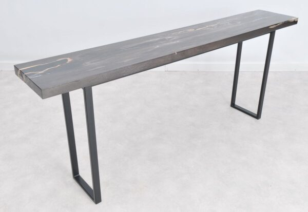 Console table petrified wood 36138