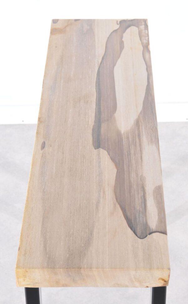 Consoletafel versteend hout 36119