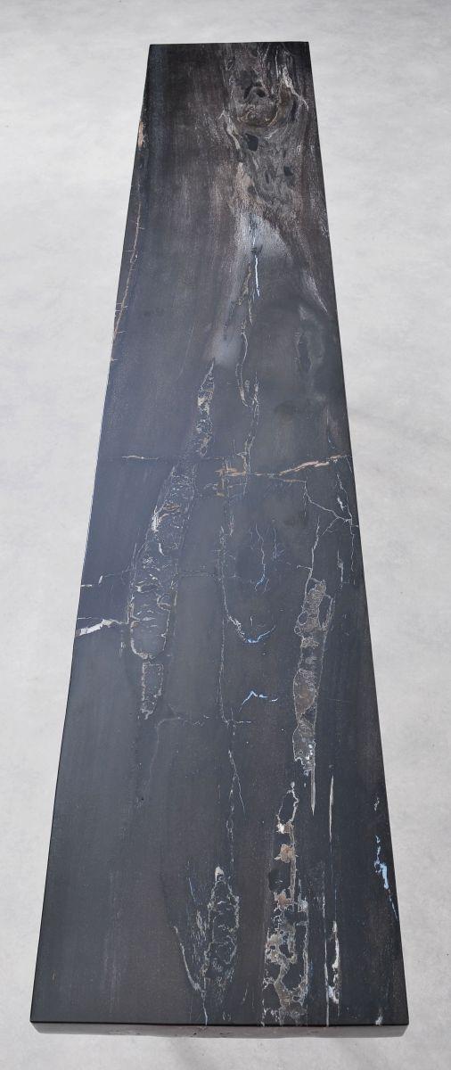Consoletafel versteend hout 36121