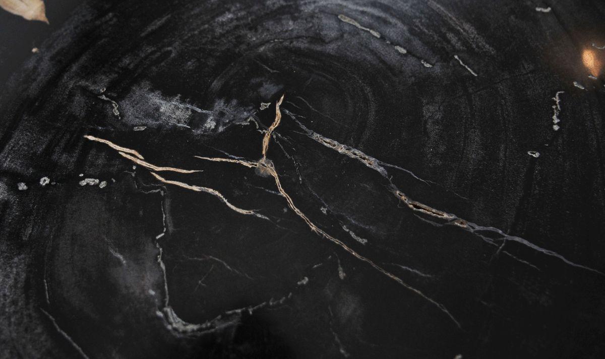 Couchtisch versteinertes Holz 36363